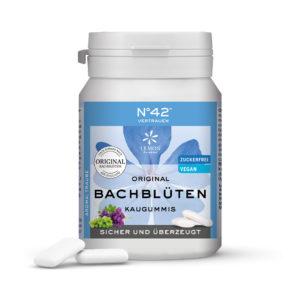 Kaugummi 42 Vertrauen Lemon Pharma Original Bachblüten Bach flowers sicher und überzeugt xylit vegan Intuition Bachblüten Kaugummis