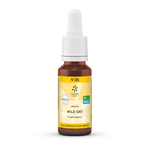 Nr 36 Wild Oat Waldtrespe Unsicherheit Lemon Pharma Original Bachblüten Dr. Bach
