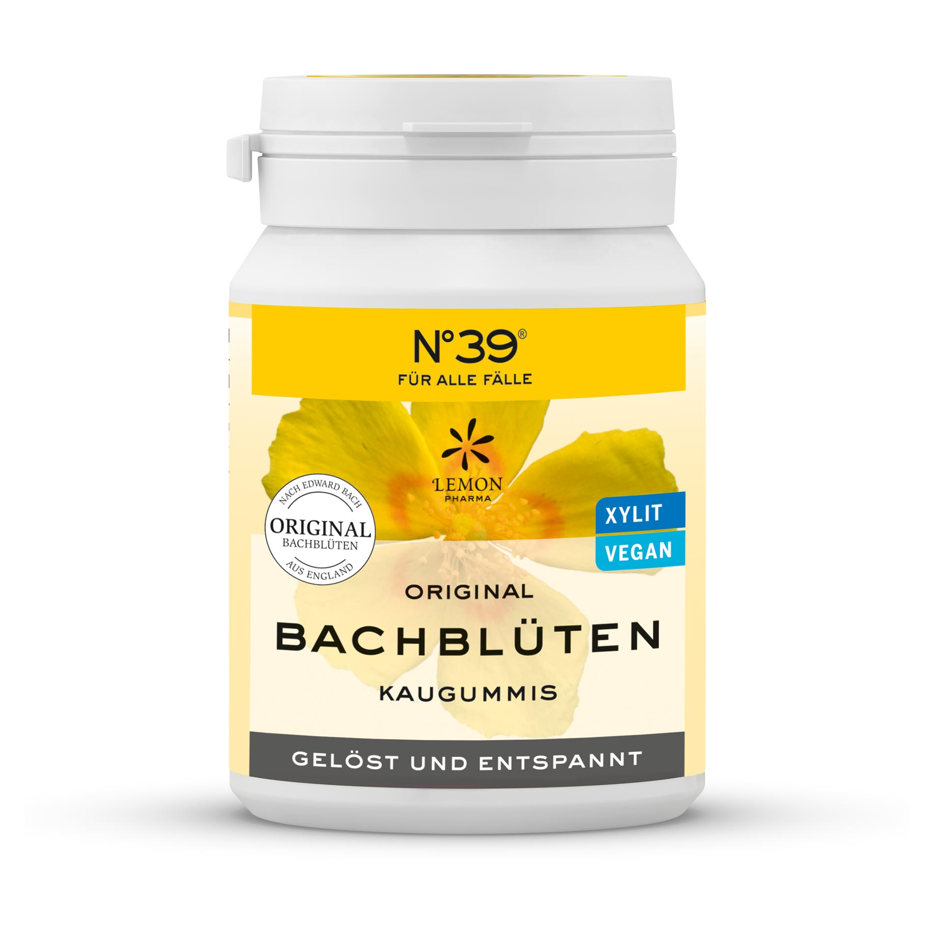 Chicles Nº 39rescate Lemon Pharma Original Flores de Bach, Rescue