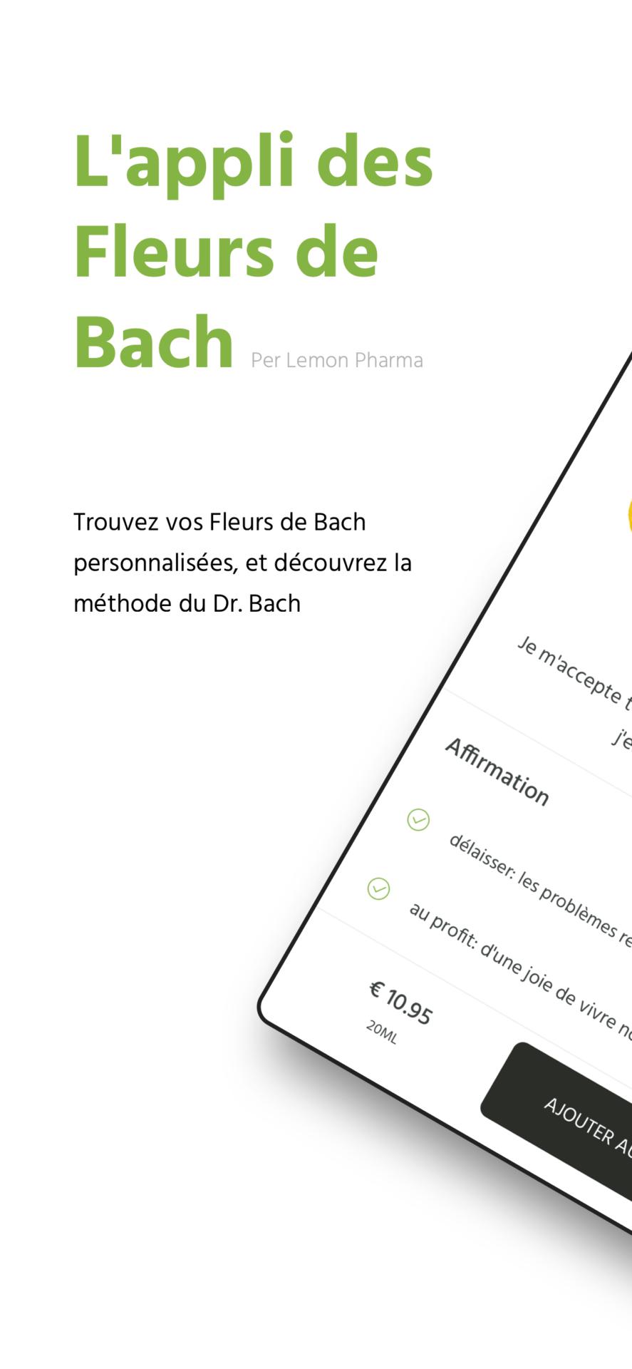 L'appli Fleurs de Bach Lemon Pharma